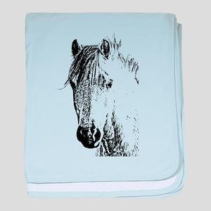 Horse Love 2 baby blanket