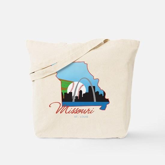 Saint Louis Missouri Tote Bag