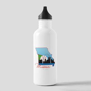Saint Louis Missouri Stainless Water Bottle 1.0L