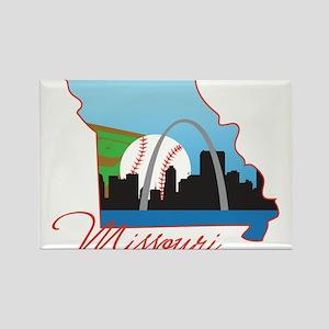 Saint Louis Missouri Rectangle Magnet