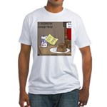 Redneck Christmas Fitted T-Shirt