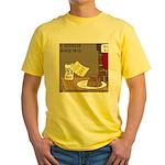 Redneck Christmas Yellow T-Shirt