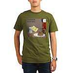 Redneck Christmas Organic Men's T-Shirt (dark)