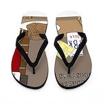 Redneck Christmas Flip Flops