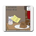 Redneck Christmas Mousepad