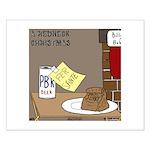 Redneck Christmas Small Poster