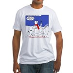 North or South Pole? Fitted T-Shirt