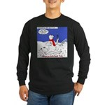North or South Pole? Long Sleeve Dark T-Shirt