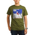 North or South Pole? Organic Men's T-Shirt (dark)