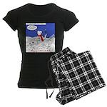 North or South Pole? Women's Dark Pajamas