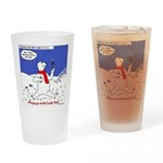 North or South Pole? Drinking Glass