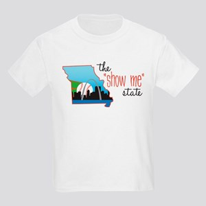 Show Me State Kids Light T-Shirt
