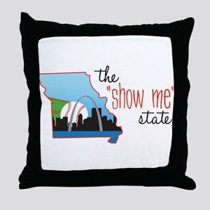 Show Me State Throw Pillow
