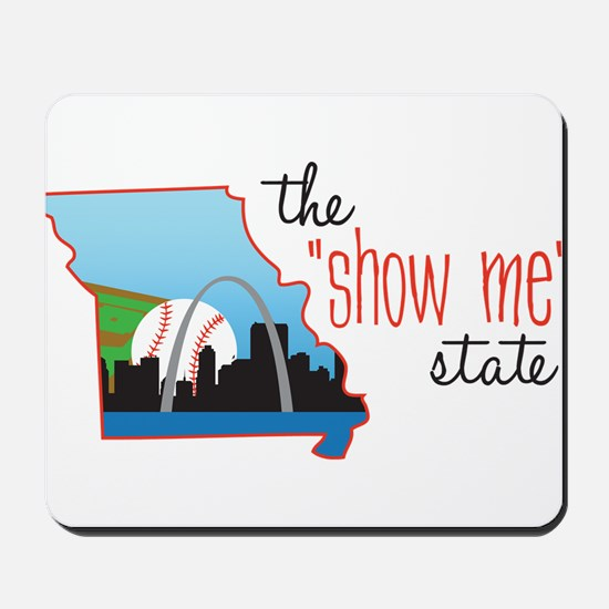 Show Me State Mousepad