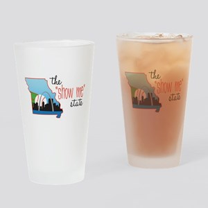 Show Me State Drinking Glass