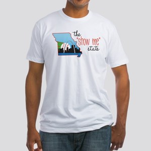 Show Me State Fitted T-Shirt