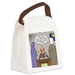 Bethlehem Census Canvas Lunch Bag