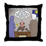 Bethlehem Census Throw Pillow