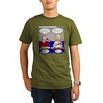 Galleria of Toolry Organic Men's T-Shirt (dark)