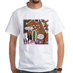 Ant Gingerbread House White T-Shirt