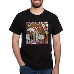 Ant Gingerbread House Dark T-Shirt