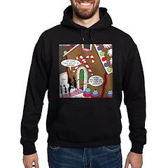 Ant Gingerbread House Hoodie (dark)