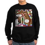 Ant Gingerbread House Sweatshirt (dark)