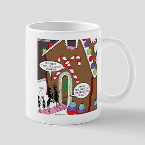 Ant Gingerbread House Mug