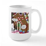 Ant Gingerbread House Large Mug