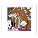 Ant Gingerbread House Small Poster