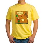 GPS - Bad Reindeer Gift Yellow T-Shirt
