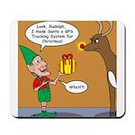 GPS - Bad Reindeer Gift Mousepad