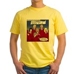 Christmas Choir Yellow T-Shirt