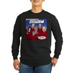 Christmas Choir Long Sleeve Dark T-Shirt