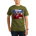 Christmas Choir Organic Men's T-Shirt (dark)