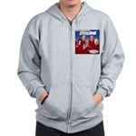 Christmas Choir Zip Hoodie