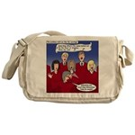 Christmas Choir Messenger Bag