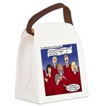 Christmas Choir Canvas Lunch Bag