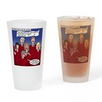 Christmas Choir Drinking Glass