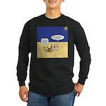 Wisemen GPS Long Sleeve Dark T-Shirt