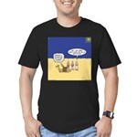 Wisemen GPS Men's Fitted T-Shirt (dark)