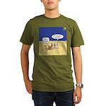 Wisemen GPS Organic Men's T-Shirt (dark)