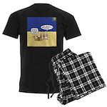 Wisemen GPS Men's Dark Pajamas