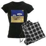 Wisemen GPS Women's Dark Pajamas