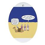 Wisemen GPS Ornament (Oval)
