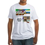 Best Christmas Decorations Fitted T-Shirt