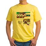 Best Christmas Decorations Yellow T-Shirt