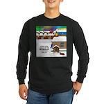 Best Christmas Decorations Long Sleeve Dark T-Shir