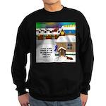 Best Christmas Decorations Sweatshirt (dark)