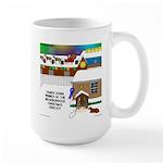 Best Christmas Decorations Large Mug